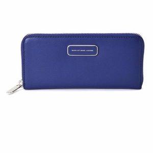 Ligero Colorblock slim zip around wallet